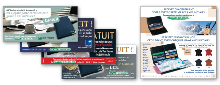 Porte carte RFID NFC